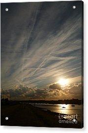 Spirits Flying In The Sky Acrylic Print