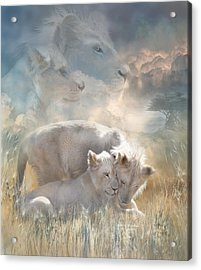 Spirits Of Innocence Acrylic Print by Carol Cavalaris