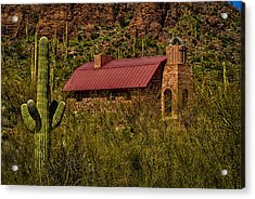 Acrylic Print featuring the photograph Spiritual Oasis by Mark Myhaver