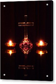 Acrylic Print featuring the photograph Spiritual Reflection by Jim Whalen