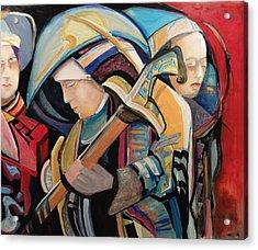 Spiritual Soldiers Acrylic Print by Shane Guinn