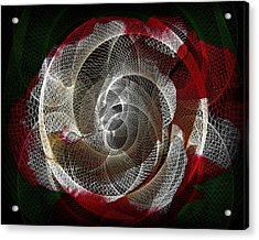 Acrylic Print featuring the photograph Spiro by Athala Carole Bruckner