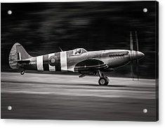 Spitfire Mk Xix Acrylic Print by J??r??me Licois