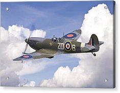Spitfire Pass Acrylic Print