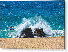 Acrylic Print featuring the photograph Splash by Shane Bechler