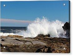 Splash Harbor Acrylic Print