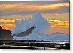 Splash - Mavericks Acrylic Print