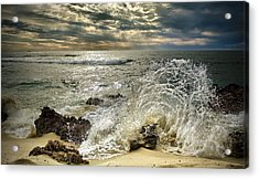 Splash N Sunrays Acrylic Print