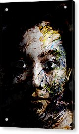 Splash Of Humanity Acrylic Print by Christopher Gaston