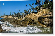 Splash Acrylic Print by Tammy Espino