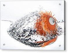 Splashie Acrylic Print