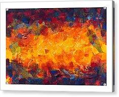 Splinter Flow Acrylic Print by Craig Tinder