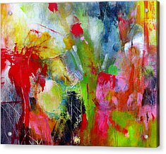 Acrylic Print featuring the painting Splinter by Katie Black