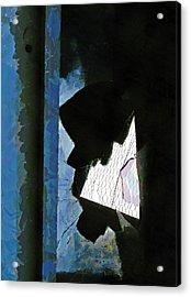 Splintered  Acrylic Print by Steve Taylor