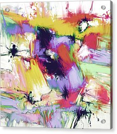 Splintered Time Acrylic Print by Keith Mills