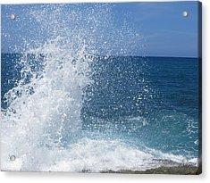 Splash Acrylic Print by Jean Marie Maggi