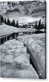 Split Acrylic Print by Mike  Dawson