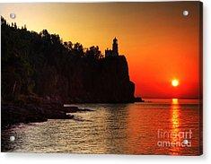 Split Rock Lighthouse - Sunrise Acrylic Print