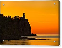 Split Rock Lighthouse Acrylic Print by Steve Gadomski