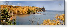 Splitrock In The Fall Acrylic Print