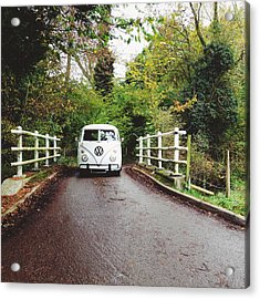 Splitscreen Over Tewin Bridge Iv Acrylic Print