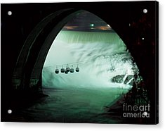 Spokane Falls Acrylic Print by Sharon Elliott