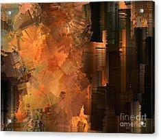 Spontaneous Combustion Acrylic Print by Sydne Archambault