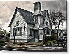 Spooky Church Acrylic Print by Gregory Dyer