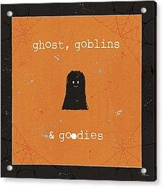 Spooky Cuties IIi Acrylic Print by Pela Studio