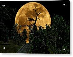 Spooky Road Acrylic Print