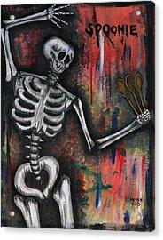 Spoonie Acrylic Print by Marisol McKee