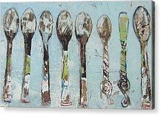 Spoons Acrylic Print