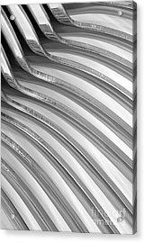 Spoons V Acrylic Print by Natalie Kinnear