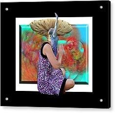 Spore Acrylic Print by Betsy Knapp