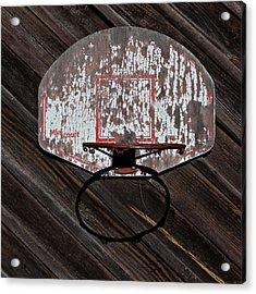 Sports - Basketball Hoop Acrylic Print