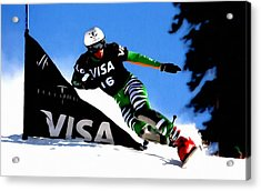 Sports  Acrylic Print by Lanjee Chee