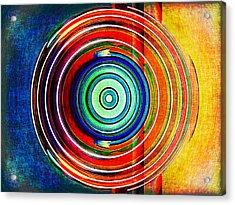 Spot On Acrylic Print by Wendy J St Christopher