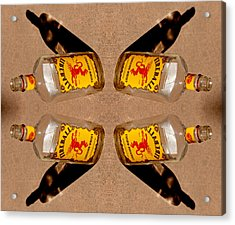 Spots Of Whiskey Axis 2013 Acrylic Print by James Warren