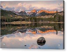 Sprague Lake Sunrise 2 Acrylic Print