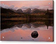 Sprague Lake Sunrise Acrylic Print