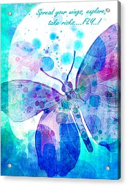 Spread Your Wings Acrylic Print by Robin Mead