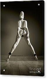 Spreader Bar Tease Acrylic Print by John Tisbury
