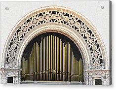Spreckels Organ Balboa Park San Diego Acrylic Print by Christine Till