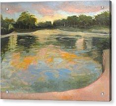 Spreckles Lake Acrylic Print