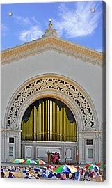 Spreckles Organ San Diego Acrylic Print