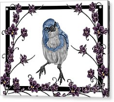 Spring 2 Acrylic Print by Karen Sheltrown