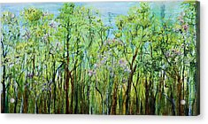 Spring Arpeggio Acrylic Print