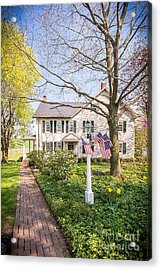 Spring At Dianna's 1 Acrylic Print by Path Joy Snyder