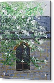 Spring At Grace Church Acrylic Print