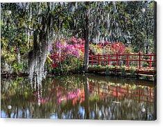 Spring At Magnolia Plantation 1 Acrylic Print